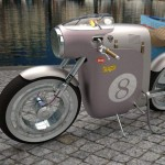 Monocasco concept electric bike