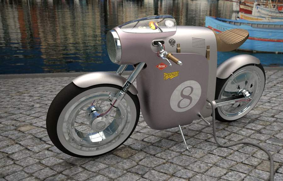 Monocasco concept electric bik (2)