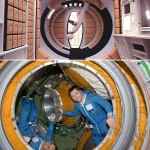 Moving around in weightlessness, then and now