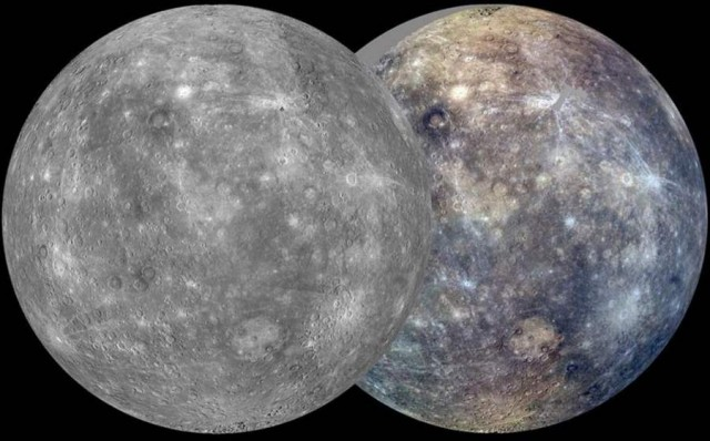New images from Messenger spacecraft of Planet Mercury
