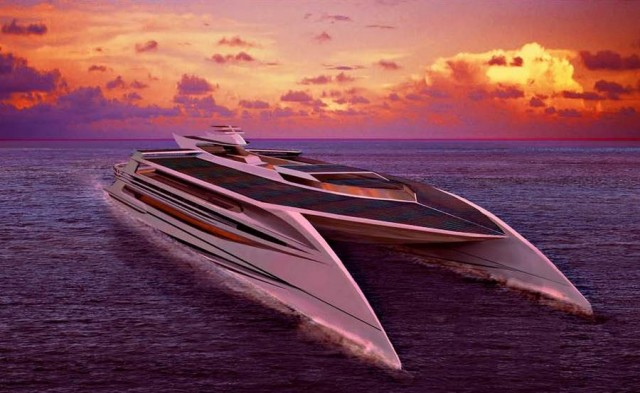 Ocean Supremacy- largest and greenest superyacht