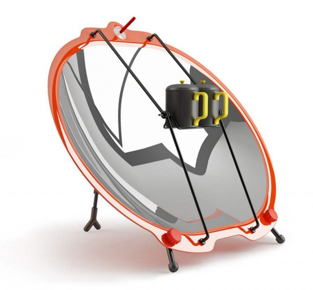 Portable Solar Cooker for D A