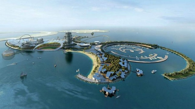 Real Madrid Resort Island in UAE