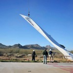 The biggest paper airplane ever constructed (video)