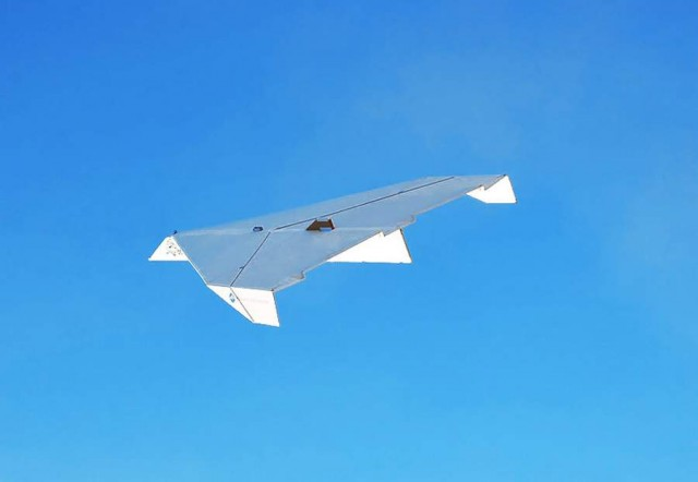 The biggest paper airplane ever constructed