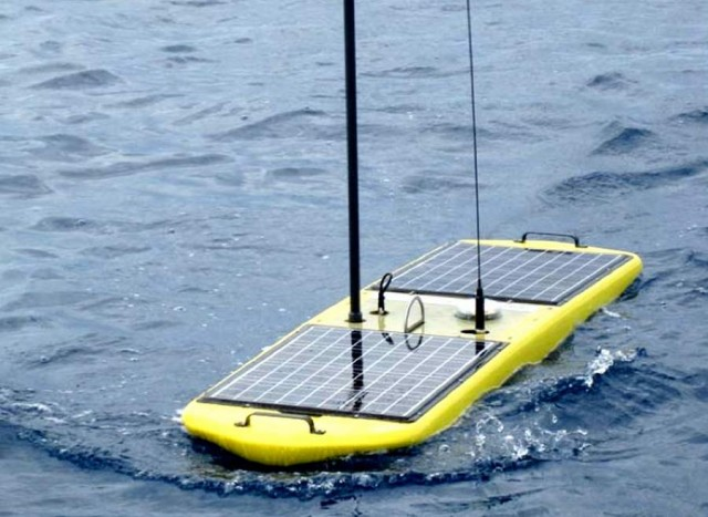 Wave Gliders by Liquid Robotics set a world record