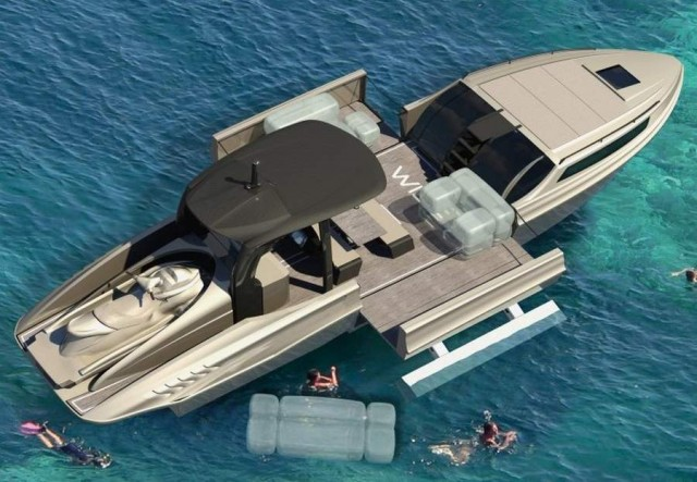 Wider 42 the expandable yacht by Wider Yachts