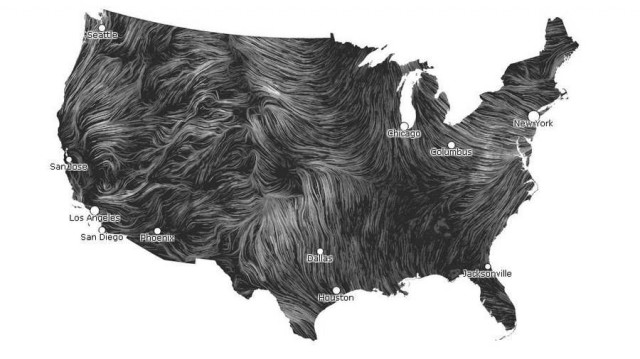 Wind Map by Hint.fm