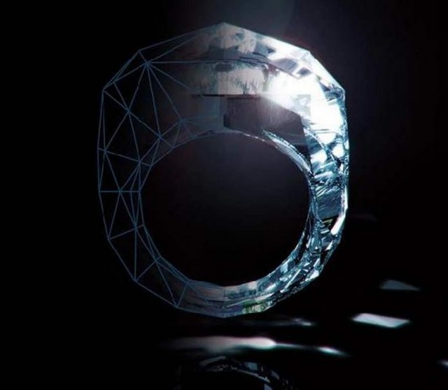 World s first Diamond Ring by Shawish