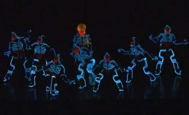 Wrecking Crew Orchestra with wearable LED suits