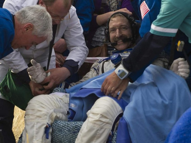 Astronauts returned to Earth safely after 6 months