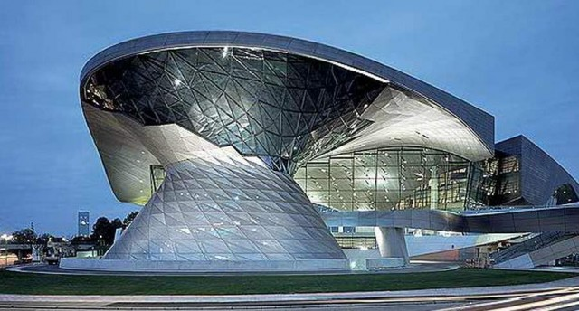 BMW Welt delivery center in Munich