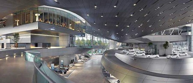 BMW Welt delivery center in Munich (4)