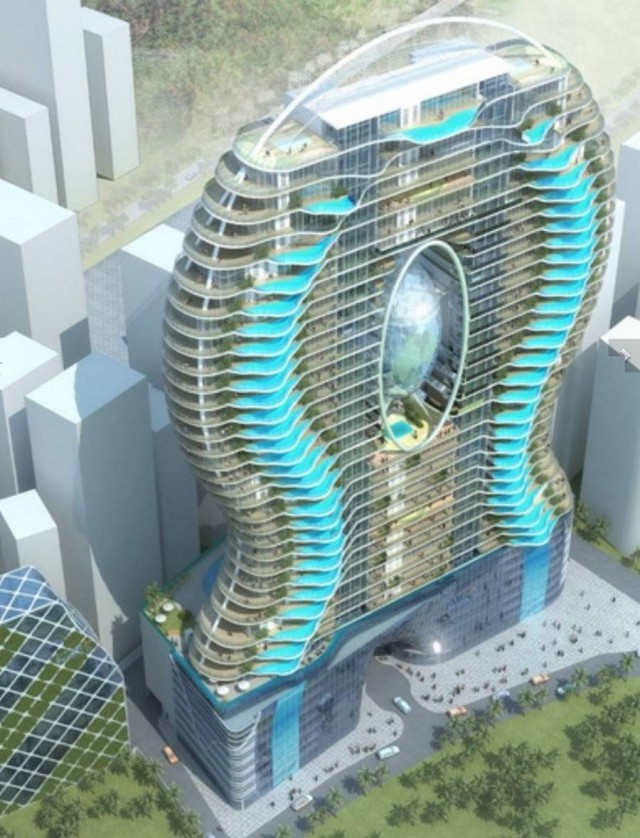 Bandra Ohm Residential Tower Architecture Design