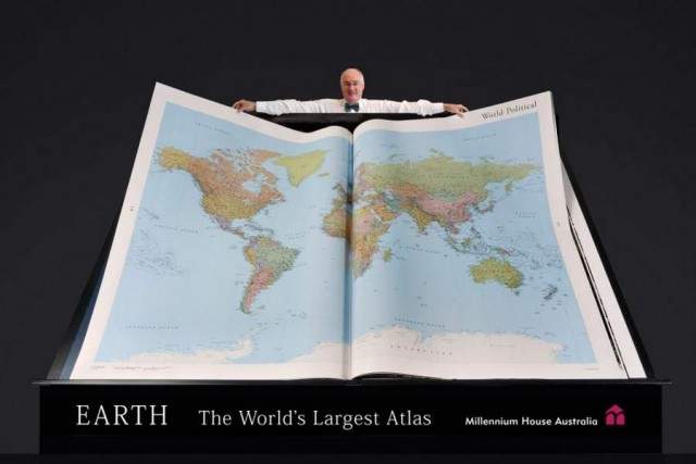 Biggest Atlas in world