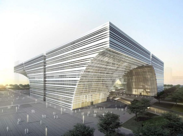 Changzhou Culture Center by GMP Architekten (6)