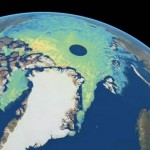 Detailed map of Arctic sea-ice thickness