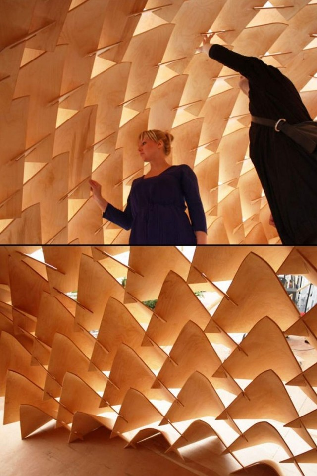 Dragon Skin Pavilion by LEAD