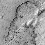 Elephant Face on Mars