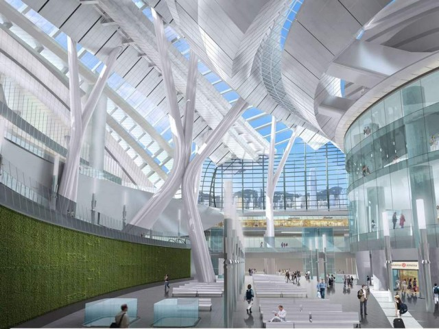 Express Rail Link West Kowloon Terminus by Aedas (6)