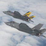F-35 first formation flight