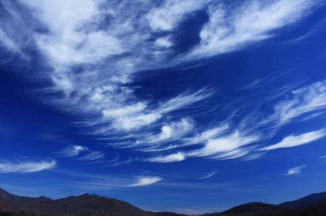 Glaciating Cirrus Clouds