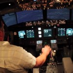 Homemade Boeing 737 Flight Simulator (video)