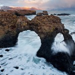 Iceland's resilient beauty- arches on the Snaefellsnes ...