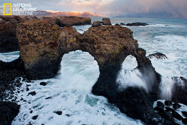 Iceland s resilient beauty- arches on the Snaefellsnes Peninsula