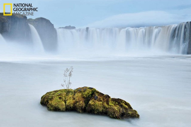Iceland s resilient beauty- waterfall of the gods