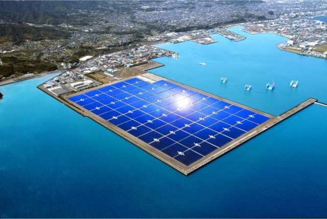Japan s largest Solar Farm in Kagoshima