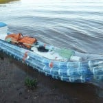 Kayak made from recycled bottles