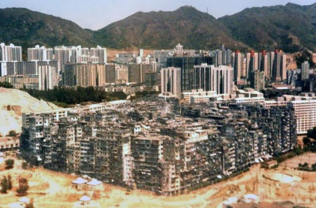 Kowloon Walled City- most densely populated area in the World