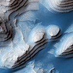 Layers in Danielson Crater, Mars