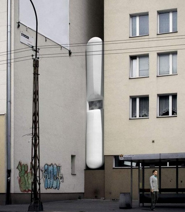 Most narrow house in the world