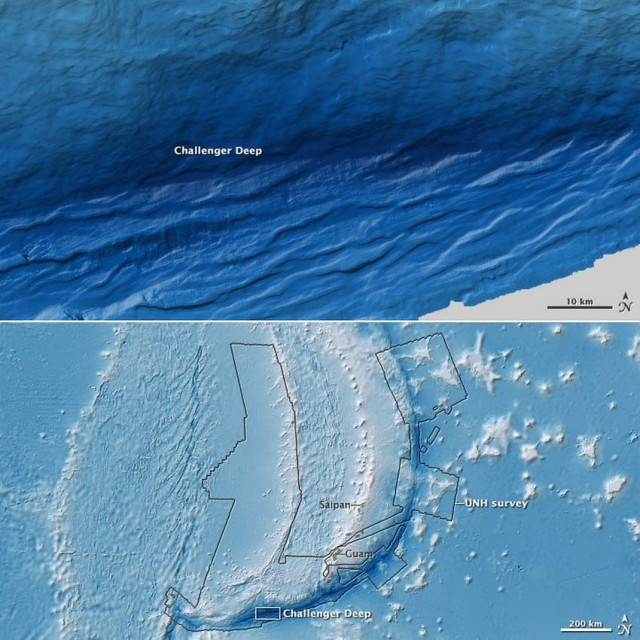 New view of the Deepest Mariana Trench