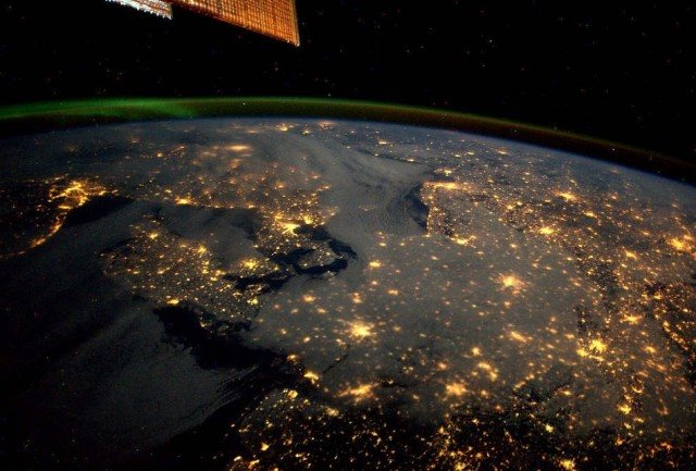 Northern Europe as seen from the ISS