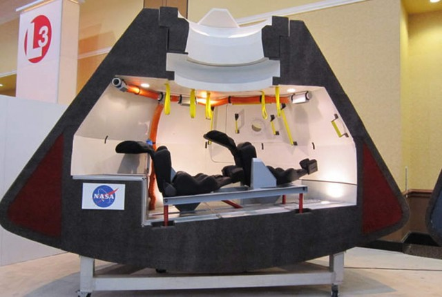 Orion spacecraft- section