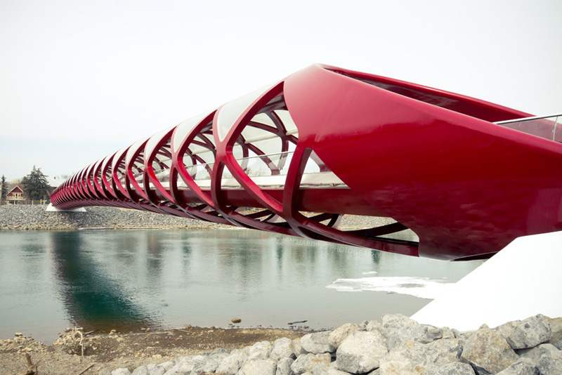 Peace Bridge by Santiago Calatrava (6)