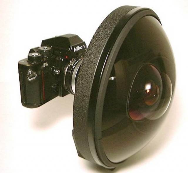 Rare extreme wide-angle Nikkor lens