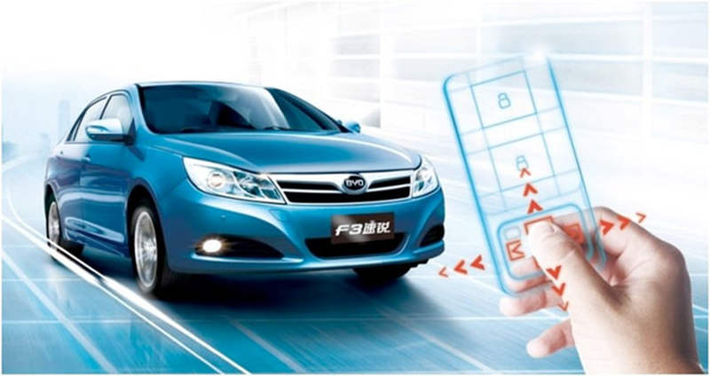 Remote Driving key by BYD