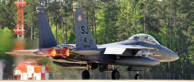 F-15E ready for take off