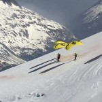 Speed Flying in Mont Blanc