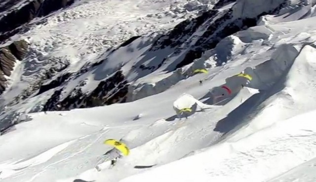 Speed Flying in Mont Blanc (4)