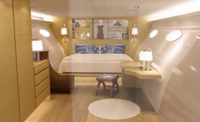 Superyacht Adastra has been unveiled by McConaghy boats (2)
