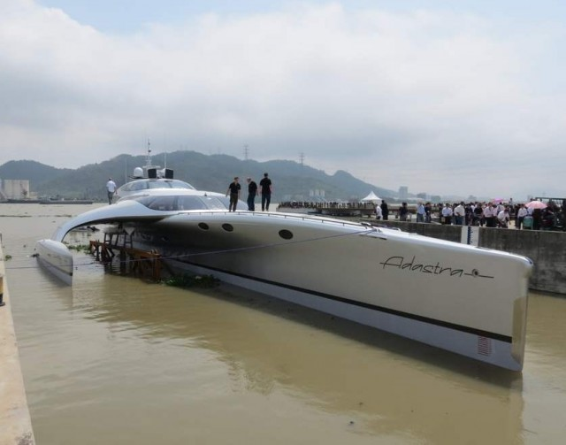 Superyacht Adastra has been unveiled by McConaghy boats (8)