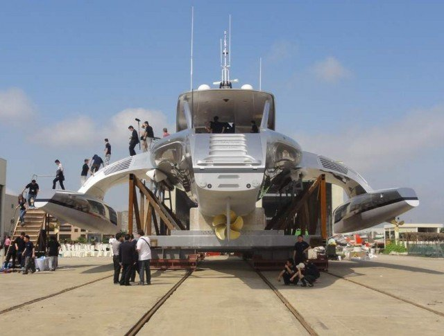 Superyacht Adastra has been unveiled by McConaghy boats (7)