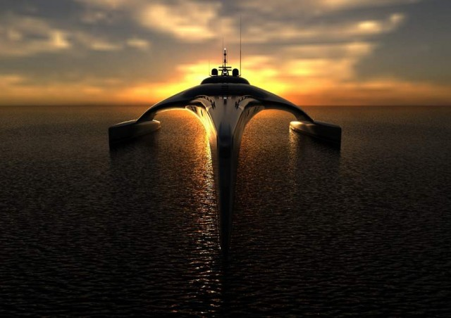 Superyacht Adastra has been unveiled by McConaghy boats (5)