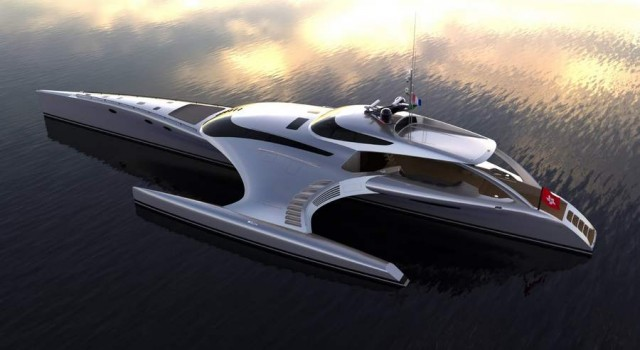 Superyacht Adastra has been unveiled by McConaghy boats (4)