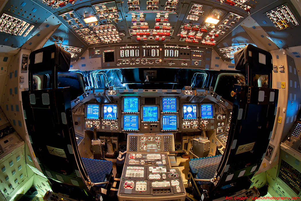 The Flight Deck of Endeavour